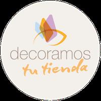 Decoracion de tiendas con Vinilo Logo